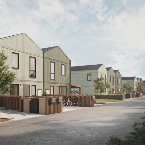 Brf Svanmossen i Lindbacken produktionsstartas efter för-säljningssuccén – 11 av 19 bostäder sålda på mindre än fyra veckor