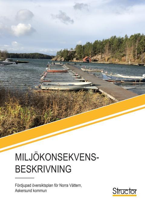 FÖP Norra Vättern, Miljökonsekvensbeskrivning - Samråd
