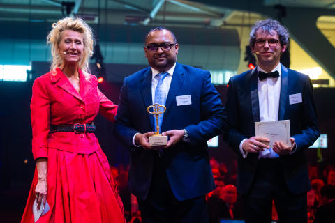 TCS Belgium wins two Data News Awards for Excellence