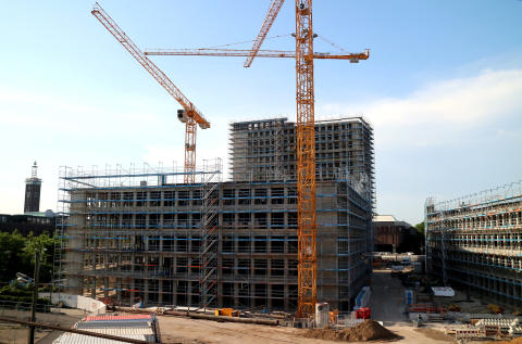 Baustelle Standort Köln, Zurich Gruppe Deutschland