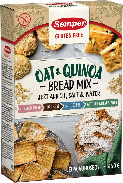Ny brødblanding gjør glutenfri baking enklere for flere!