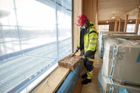 JSB använder Knauf Insulation för ny byggnad i Växjö