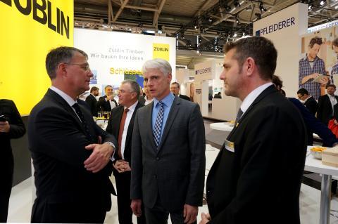 ZÜBLIN Timber präsentierte sich erfolgreich auf der BAU 2017 in München
