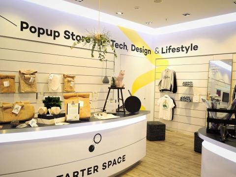 """""""Starter Space"""" Popup Store"""