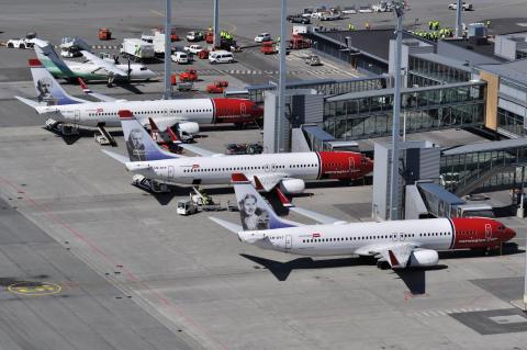 Norwegianin matkustajamäärä kasvoi merkittävästi huhtikuussa