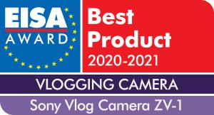 EISA Award Sony Vlog Camera ZV-1