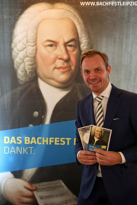 Michael Maul (Dramaturg Bach-Archiv Leipzig) stellte das Bachfest-Programm 2018 vor