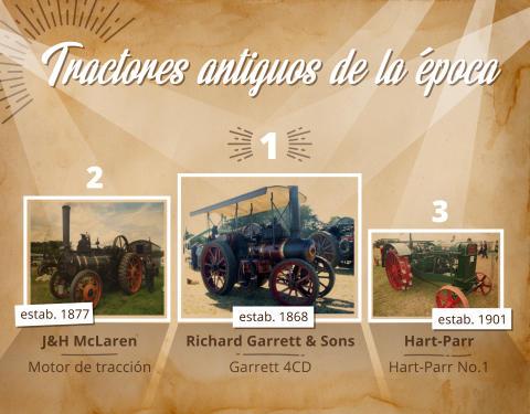 Tractores antiguos - máquinas que allanaron el camino para la agricultura moderna.