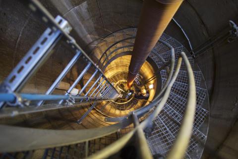 PLC med indbygget webserver optimerer styringen af underjordisk pumpestation