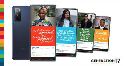 Samsung och FN:s utvecklingsprogram samarbetar med ungdomar för att accelerera framstegen för de Globala målen