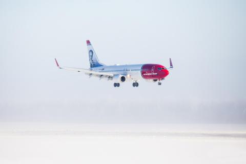 COVID-19 heavily influences Norwegian's January traffic figures