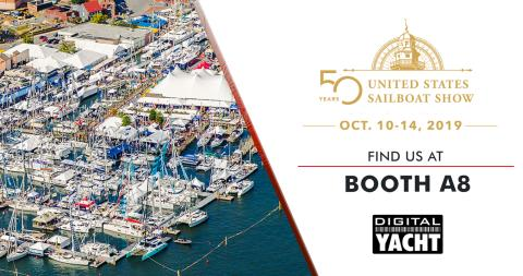Digital Yacht at the Annapolis Sailboat Show with New Products