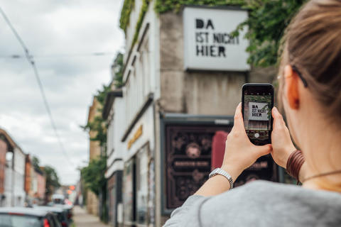 Urban Art in Gelsenkirchen wird durch Augmented Reality lebendig