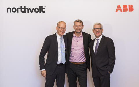 ABB and Northvolt partner for Europe's largest battery factory