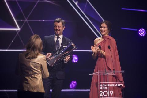 Kronprinsparret overrækker Kulturprisen ved Kronprinsparrets Priser 2019