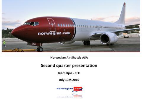 Q2 Presentation 2010