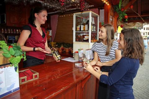 Zum 11. Döbelner Weinfest kommen Weinkenner auf ihren Geschmack