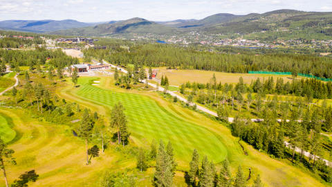 Norges fineste fjellgolfbane