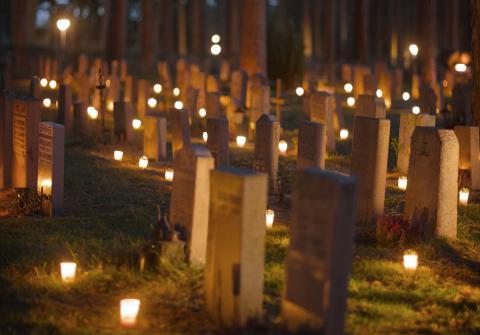 3 av 10 svenskar pratar aldrig om döden
