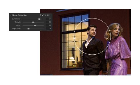 Capture One 20 - Noise Reduction