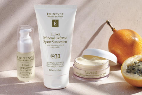 Lansering: Éminence Lilikoi Mineral Defense Collection