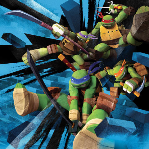 Nicktoons-Teenage-mutant-ninja-turtles