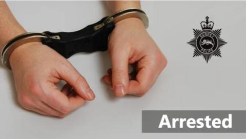 Arrest made during execution of warrant in Lingfield