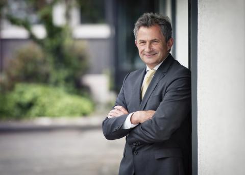 Peter Hübner, Vorstandsmitglied STRABAG AG, Köln