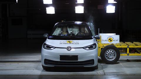 VW ID.3 side impact test 2020
