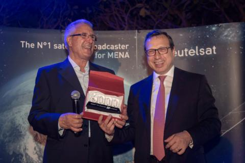 OSN First HD - Home of HBO receives Special Award from Eutelsat as 6000th channel on its fleet