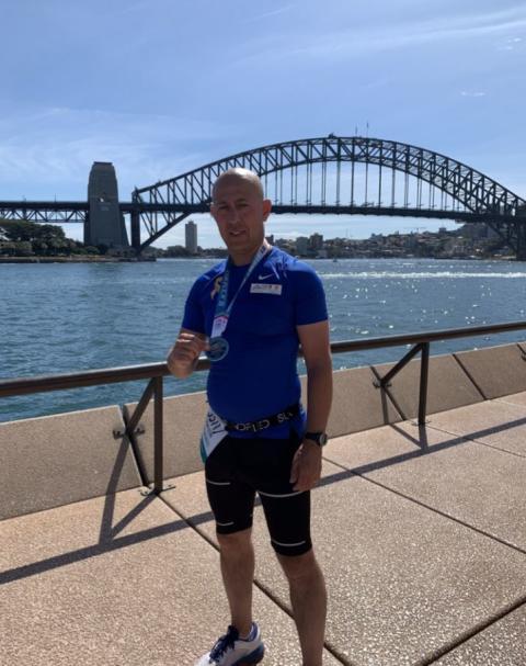PC Ceyhun Uzun - Sydney Marathon