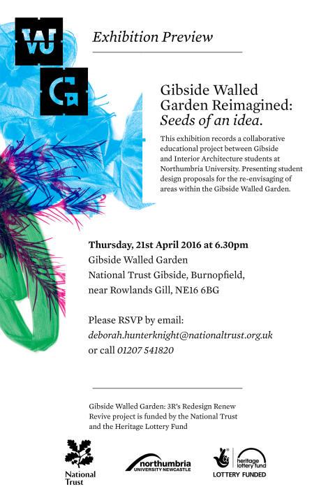 Gibside Walled Garden Reimagined: Seeds of an idea