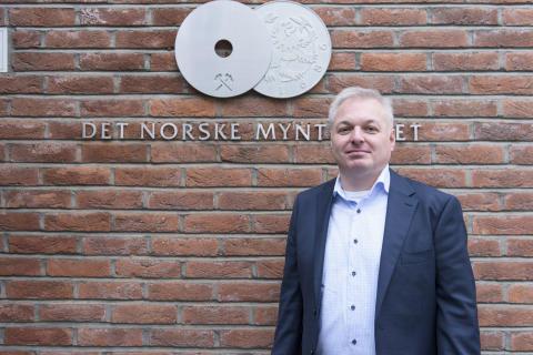Det Norske Myntverket, Kongsberg. Eier Ole Bjørn Fausa, Samlerhuset