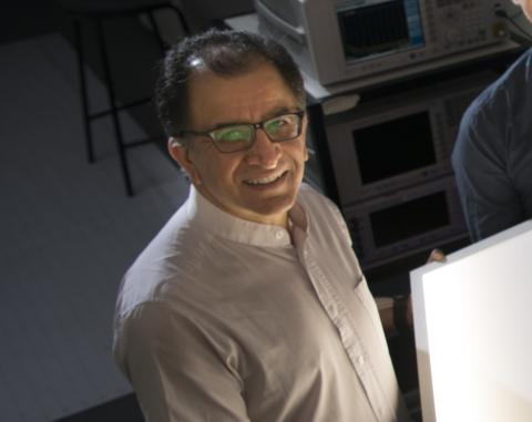 Zabih Ghassemlooy, Professor of Optical Communications at Northumbria University, has been elected a Fellow Member of The Optical Society (OSA) for his service in the advancement of optics in photonics