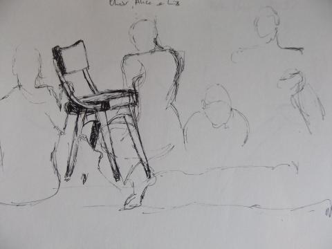Sketch by Angela Kennedy