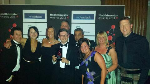 Finegreen named Recruiter of the Year at the Health Investor Awards 2013!