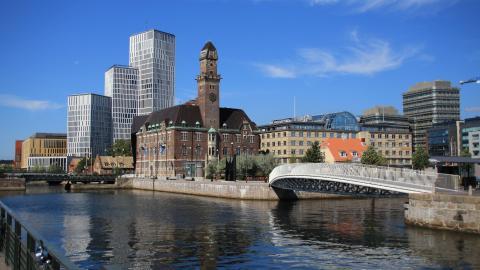 Öresundsmetron tar sig in i Malmö