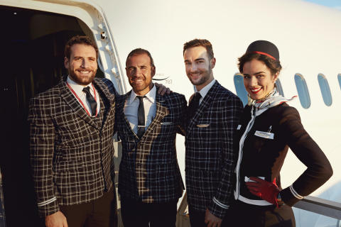 Norwegian long-haul crew.