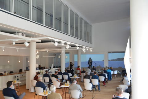 Eröffnung Welcome Center Kieler Förde