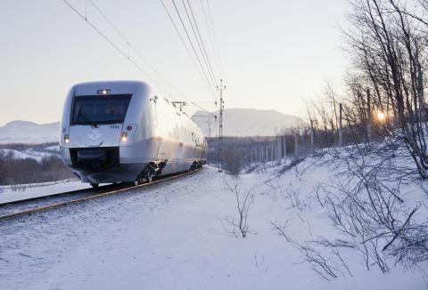 Alla SJ 3000 levererade till Sverige