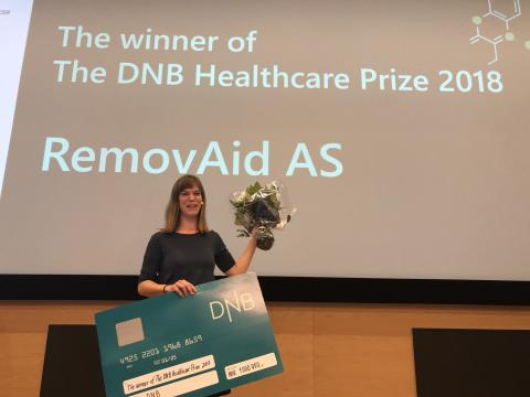 ​RemovAid is Norway's best health startup in 2018 and wins 1 million NOK!