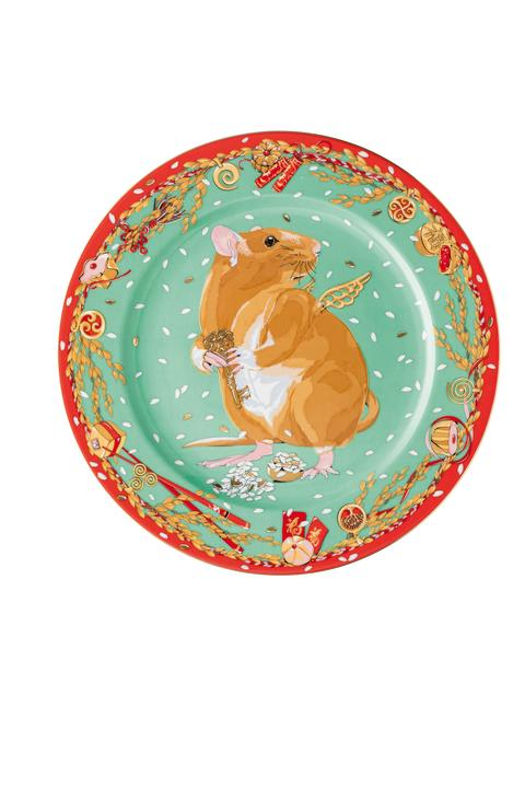 Rosenthal - Year of the Rat Zodiac Plate/Design: iSHONi