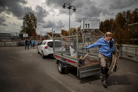 Återvinningscentralen Kretsloppsparken Alelyckan