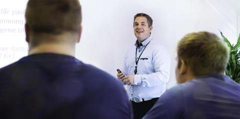 Instruktør i klasserom