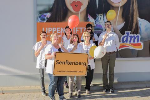 Jetzt auch in Senftenberg: erster dm eröffnet nahe der TU