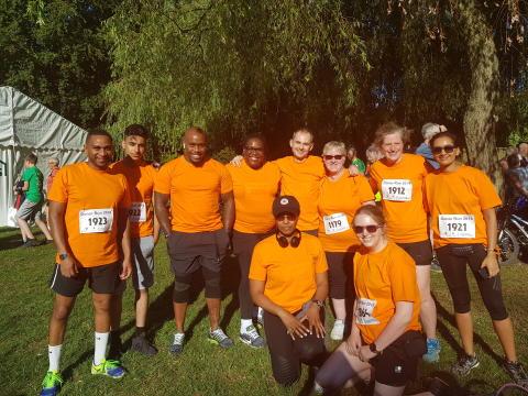 West Midlands Railway staff run for organ donation