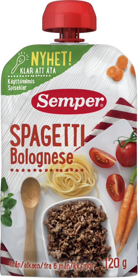 Spagetti Bolognese i klämpåse
