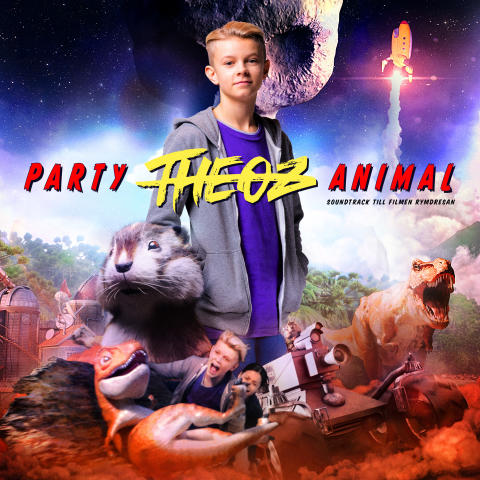 """THEOZ är dubbelt aktuell! Idag släpps både hans singel """"Party Animal"""" och filmen Rymdresan, där THEOZ har en av huvudrollerna."""