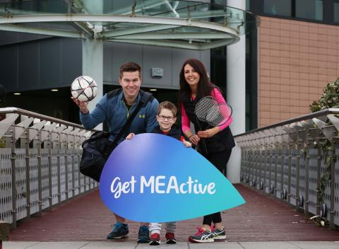Over 600 new members have signed up since March to 'GetMEActive'