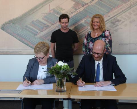 Kooperationsvereinbarung mit der Geschwister-Scholl-Gesamtschule Zossen bei der Studienorientierung